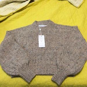 Brand new Christy Dawn Frannie Sweater in Oatcake